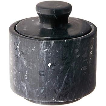 Amazon Com Thirstystone White Amp Black Marble Salt And