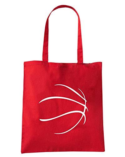 Speed Shirt Borsa Shopper Rossa OLDENG00739 BASKETBALL