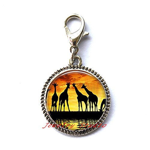 Zipper Pull Jewelry Charm - 5