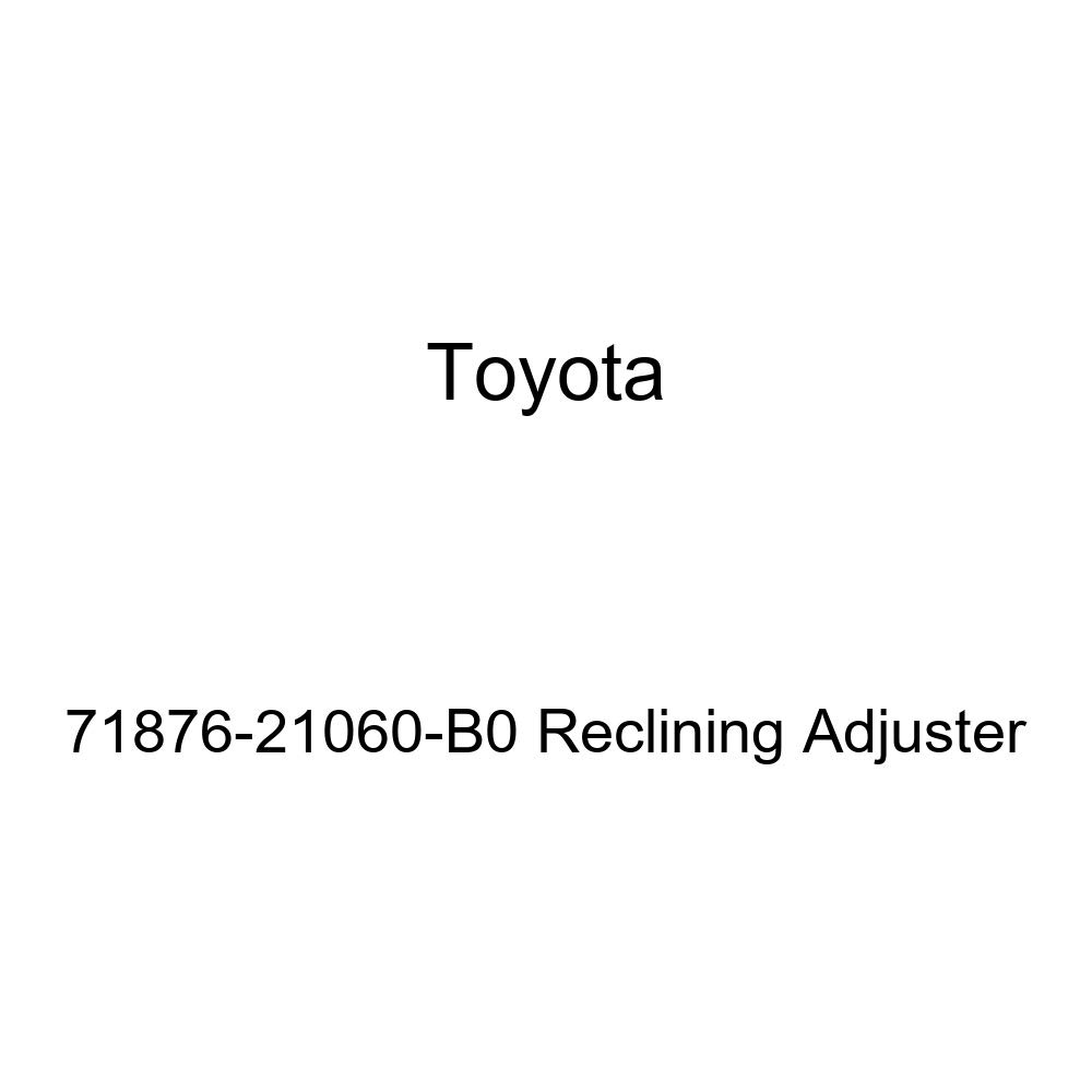 TOYOTA Genuine 71876-21060-B0 Reclining Adjuster