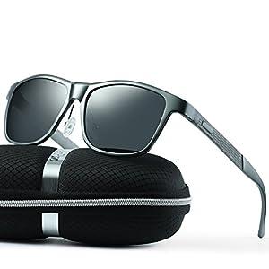 wearPro Wayfarer Sunglasses for Men Women Vintage Polarized Sun Glasses WP1001