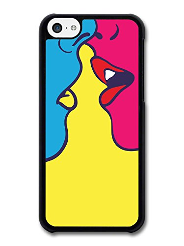 Cool Pop Art Kiss Romantic Trippy New Design case for iPhone 5C