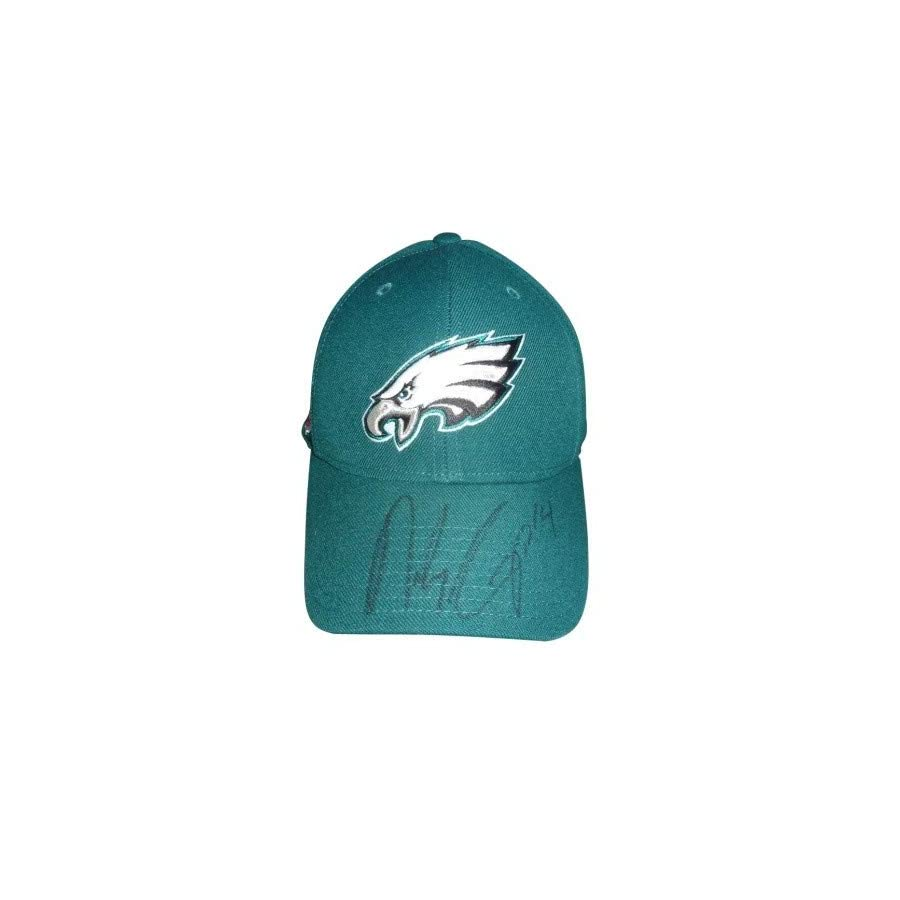 Riley Cooper Autographed Signed Auto Philadelphia Eagles Game Used Sideline Hat 2010 Season Certified Authentic