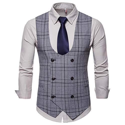 sin informal Hombre botoner capucha con doble Chaqueta Moda Adeshop estampado mangas con de 1pxUHH