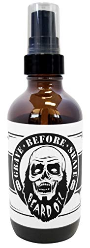 Grave Before Shave Beard Bottle product image