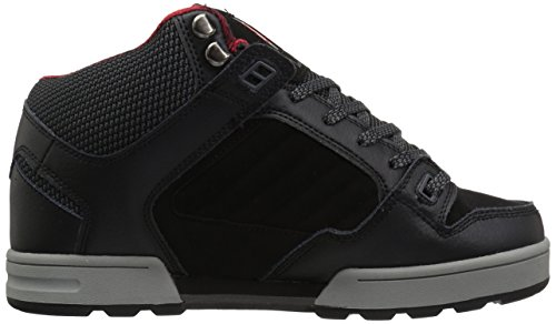 DVS Shoes Herren Militia Boot Hohe Sneaker Noir (Black Leather Ettala)