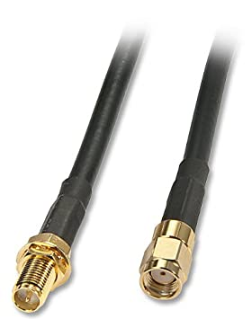 Lindy 10m External WLAN Antenna Cable 10m SMA-RP SMA-RP Negro - Cable