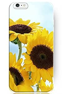 Winona ? Accessories New Fashion Design Hard Skin Floral Cover Shell Free Growing Sunflower For iPhone 4 4s