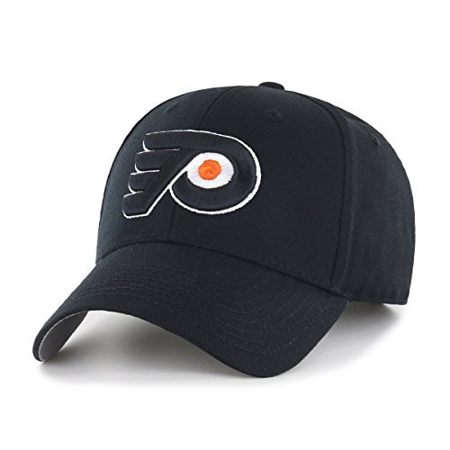 Crown Flyers (NHL Philadelphia Flyers OTS All-Star MVP Adjustable Hat, Black, One Size)