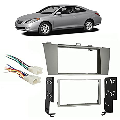 Amazon Fits Toyota Camry Solara 20042008 Double Din Harness. Fits Toyota Camry Solara 20042008 Double Din Harness Radio Install Dash Kit. Toyota. 1982 Toyota Camry Factory Radio Plug Wiring At Scoala.co