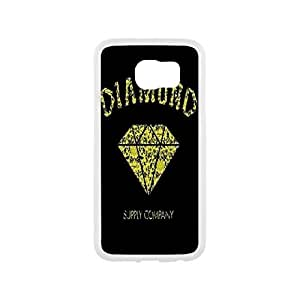 Case for Samsung Galaxy S6,Diamond Supply Co Plastic and TPU Cover