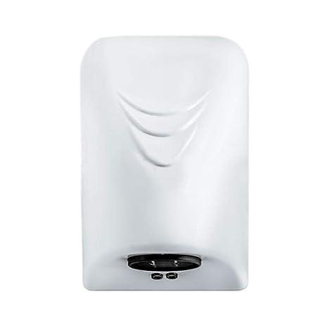 Mencom Secador de Manos Eléctrico con Sensor Montaje en Pared Aire Caliente Rápido