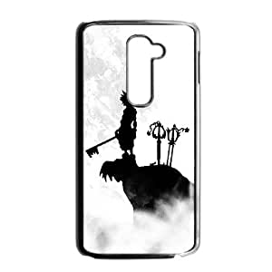LG G2 Cell Phone Case Black Kingdom Hearts A7C1T