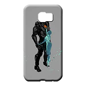 samsung galaxy s6 case Back Snap On Hard Cases Covers phone back shells halo 4 master chief and cortana