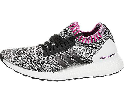 Adidas Ladies Core - adidas Ultraboost X Running Shoe - Women's FTWR White/Core Black/Shock Pinkf18, 8.0