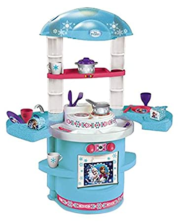 Küche Spielzeug | Smoby 310706 Eiskonigin Meine Erste Kuche Kuchenspielzeug Amazon