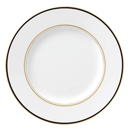 kate spade New York 871084 Library Lane Black Dinner Plate