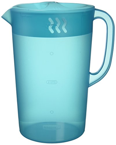 Rubbermaid Gallon Pitcher - Blue (Plastic 1 Gallon Lid Pitcher With)