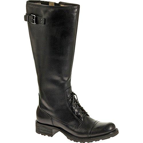 Sebago Womens Saranac Lace Boot Black Leather