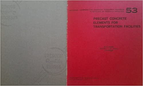 Free books free download pdf Precast concrete elements for transportation facilities (Synthesis of highway practice) 0309028574 (Danish Edition) ePub