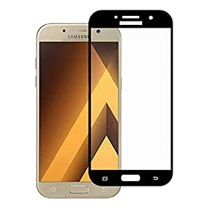 Tempered Glass Screen Protector For Samsung Galaxy_A5-2016 (black)