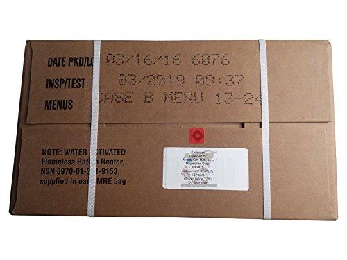 Price comparison product image MRE (Meals-Ready-To-Eat) Case-Inspection 03 / 2019 or Better-ACM MRE Case (Case B)