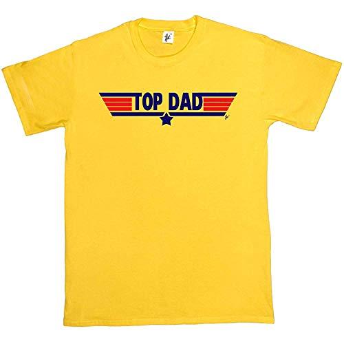 cf8693ab201 rydesignt Top Dad Mens Cotton Short Sleeve T-Shirt - Sizes S M L XL 2XL XXL