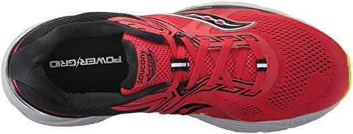 Red Men's Cotton Running Shoe Saucony Swerve Black wAcaIqqd