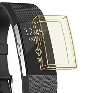 Amazon.com: Kacowpper - Funda de silicona para Fitbit Charge ...