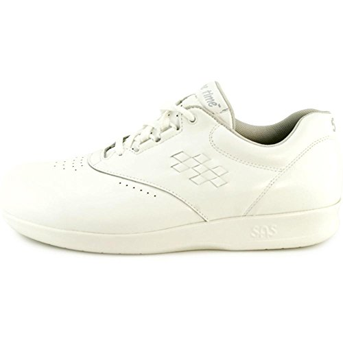 San Antonio Schoen Vrouwen Sas, Vrije Tijd Lace Up Sneaker Wit
