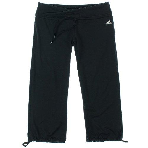 Adidas Womens Climalite Capri Pants S Black
