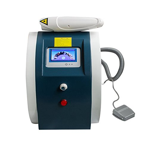 Tattoo Eyebrow Removal Machine, Zinnor Permanent Eyebrow Tattoo Machine Professional Eye Lip Pigment Remover Device for Freckle Old Aged Marks Makeup Beauty Machine for Salon or Home Use