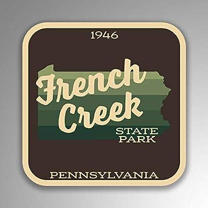 Amazon Com Jb Print French Creek State Park Sticker Explore