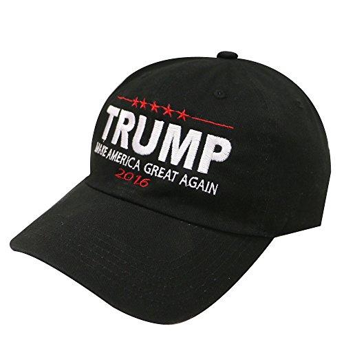 hacen blanco algodón Trump C104 color América nbsp;Bold negro Nuevo Gran y Gorra 1Ex6z