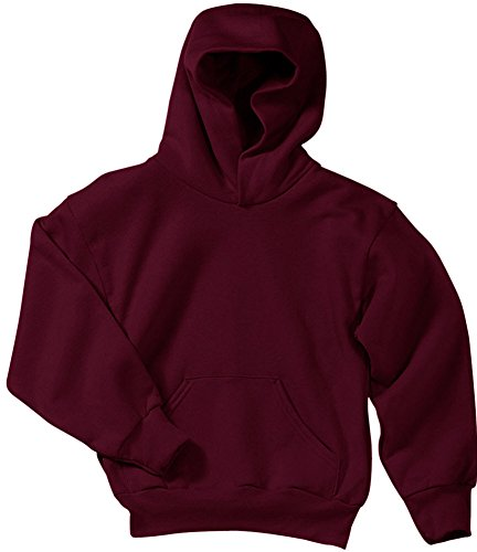 Hoody Sweatshirt Maroon (Joe's USA tm Youth Soft and Cozy Hoodies Size L- Maroon)