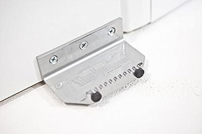 StepNPull (Silver) - Hands Free Door Opener - 1-Piece