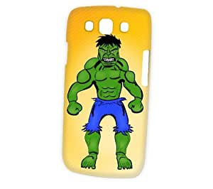 Case Fun Samsung Galaxy S3 (I9300) Case - Vogue Version - 3D Full Wrap - Hulk