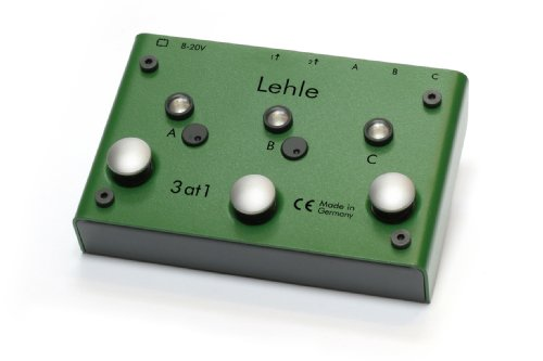 Lehle 3 at 1 Stereo Instrument Switcher