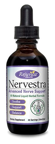 Nervestra Nerve Health Support Supplement | Fast, Natural Liquid Formula | Turmeric, B-Vitamins, Alpha Lipoic Acid & More