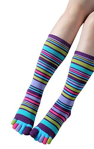 (Women Toe Socks Funky Finger Socks Cute Cartoon Cotton Socks (09))