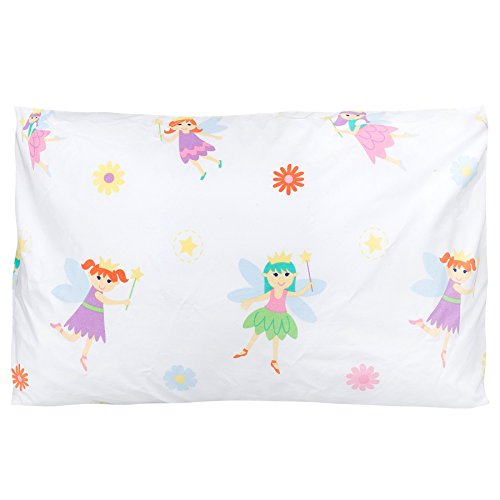 [Olive Kids Fairy Princess 13 1/2 x 19 Hypoallergenic Toddler Pillowcase] (Pillowcase Dress Costume)