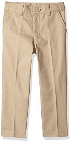 Classroom School Uniforms Little Boys Flat Front Pant, Khaki, 7 Boys School Uniform Pant