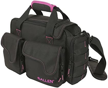 Allen Compact Shooting Range Bag for Women, This Range Bag Comes in Black Pink