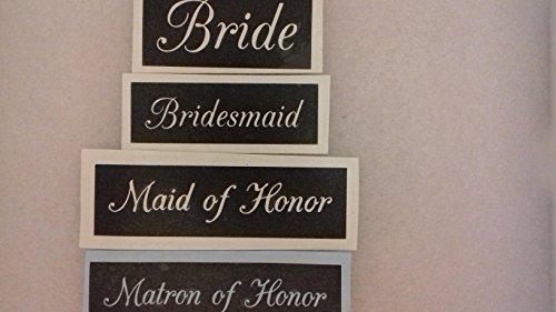 [해외]12 x 신부 브라이트 메이드 명예의 하녀 명예의 기량 유리에 에칭에 대한 스텐실 믹스 현재 취미 선물 결혼 호의/12 x Bride   Bridesmaid   Maid of Honor   Matron of Honor word stencil mix for etching on glass present hobby gift wedding fa...