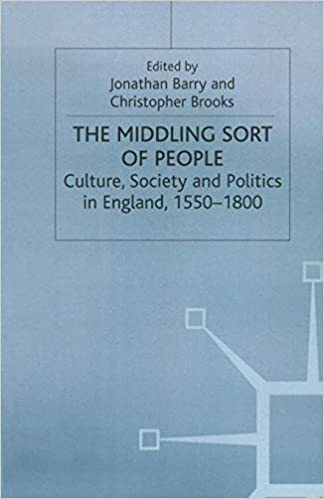 Culture, Society and Politics in England, 1550–1800