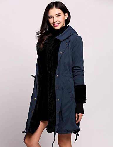 Marine Cappotto Donna Qw4axbr Bleu Mymotto nr80WS8Hwq