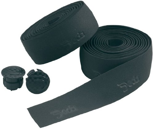 - Deda Elementi Logo Synthetic Road Bicycle Handlebar Tape (Night Black)