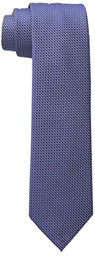 Wembley Big Boys Standard Solid Tie, Navy, One Size