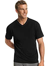 Men's White and Assorted V-Neck T-Shirts