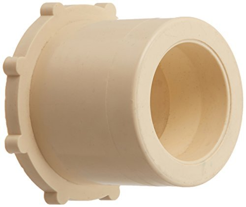 King Brothers Inc. RCB-42-S 1-1/4-Inch by 3/4-Inch Solvent PXL CPVC Reducing Bushing, Tan by King Brothers (Cpvc Solvent)
